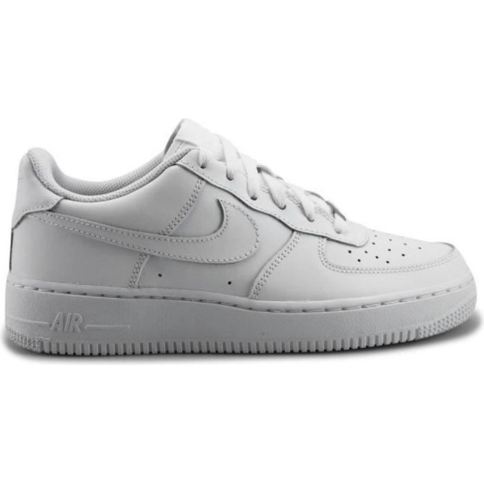 BASKET NIKE Baskets Air Force 1 Low Gs - Enfant - Blanc