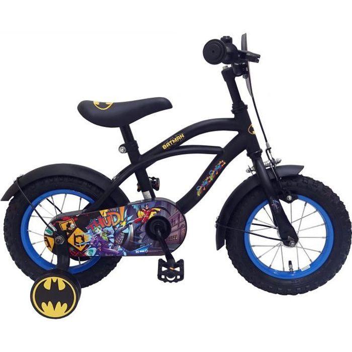 DC Comics Enfants Vélo Batman 10 in 18 cm jeune ROUES NOIR