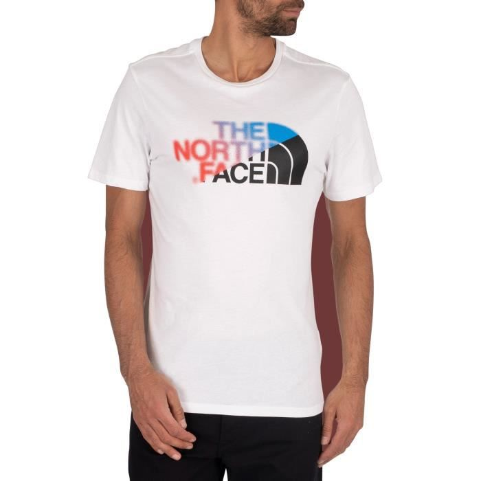 T-SHIRT The North Face  T-shirt graphique, blanc, Homme