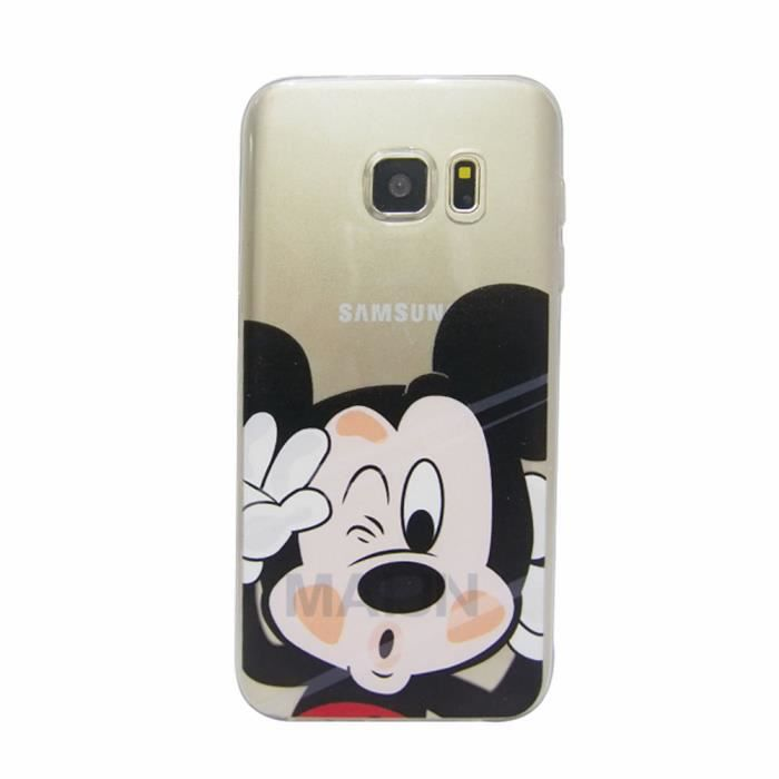 coque pour samsung galaxy j3 2016 smartphone conception de mickey mouse gel tpu bumper t l phone. Black Bedroom Furniture Sets. Home Design Ideas