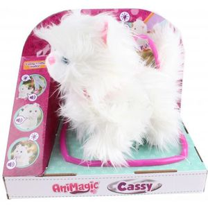 PELUCHE Cassy le chat jouet câlin interactif en peluche 24