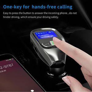 CHARGEUR CD VOITURE Bluetooth mains libres sans fil Transmetteur FM LC