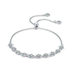 BRACELET - GOURMETTE WOSTU Bracelet Femme 2019 Argent 925/1000 Manchett