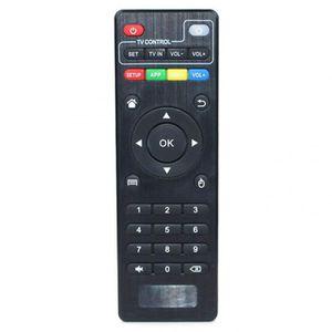 TÉLÉCOMMANDE TV Noir Universel Sans Fil Pc Télécommande Pour Mxq P
