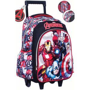CARTABLE Trolley cartable sac à dos avengers