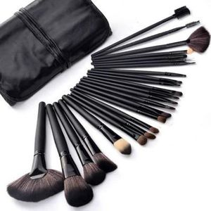 PINCEAUX DE MAQUILLAGE 24pcs Set de Pinceaux à Maquillage Make Up Tool Se