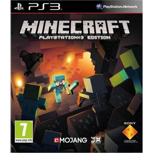 JEU PS3 MINECRAFT - PLAYSTATION 3 EDITION…