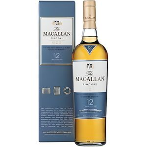 WHISKY BOURBON SCOTCH Whisky Macallan fine OAK 12 ans 70 cl 40°