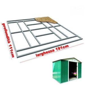 ABRI JARDIN - CHALET Support de plancher base pour Box Abri de jardin 1