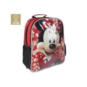 CARTABLE Cartable avec LED Minnie Mouse 907