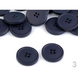 Bleu Clair Lot de 20 Mini Boutons 9mm 2 Trous