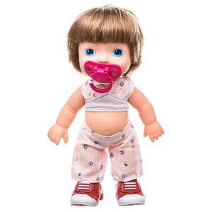 TÉTINE Poupée bébé avec tétine Louna - H. 36 cm - Chataîn