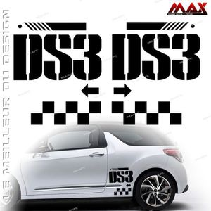 stickers ds3 racing achat vente stickers ds3 racing pas cher cdiscount. Black Bedroom Furniture Sets. Home Design Ideas