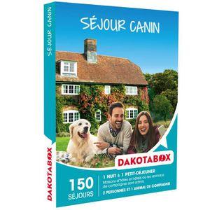 COFFRET SÉJOUR Coffret Cadeau - Séjour canin - Dakotabox