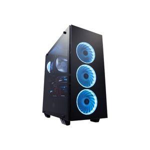 BOITIER PC  FSP CMT510 Tour midi ATX pas d'alimentation noir U