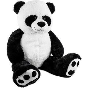 PELUCHE BRUBAKER Peluche géante XXL - Panda Nounours - 100