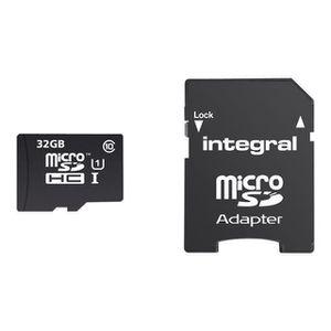 CARTE MÉMOIRE INTEGRAL Carte mémoire flash pour smartphone, tabl