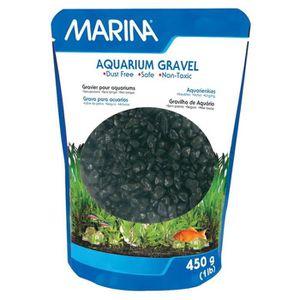 Gravier noir aquarium