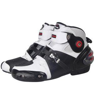 CHAUSSURE - BOTTE Chaussures moto Unisex de Marque Résistance à l 'u
