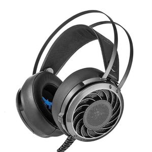 CASQUE AVEC MICROPHONE Stéréo Gaming Casques HIFI 3.5mm filaire gaming Ca