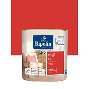 PEINTURE - VERNIS RIPOLIN Peinture Murale Toutes Pièces  - Rouge Vif