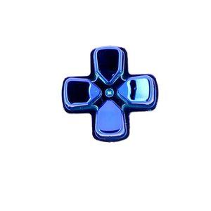 MANETTE JEUX VIDÉO Bouton D-pad pour Manette PS4 - Chrome Bleu