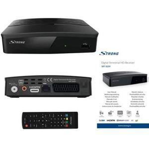 RÉCEPTEUR - DÉCODEUR   STRONG SRT 8209 Décodeur TNT Full HD DVB-T2, Récep