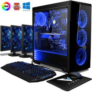 UNITÉ CENTRALE + ÉCRAN VIBOX Warrior 7W PC Gamer Ordinateur avec Jeu Bund
