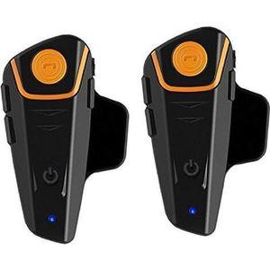 INTERCOM MOTO Casque Bluetooth BT-S2 1000M pour Moto Intercom Ca