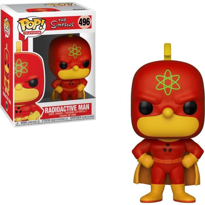 Figurine Funko Pop! Simpsons S2: Homer Radioactive Man