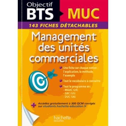 management des unit s commerciales bts muc achat vente. Black Bedroom Furniture Sets. Home Design Ideas