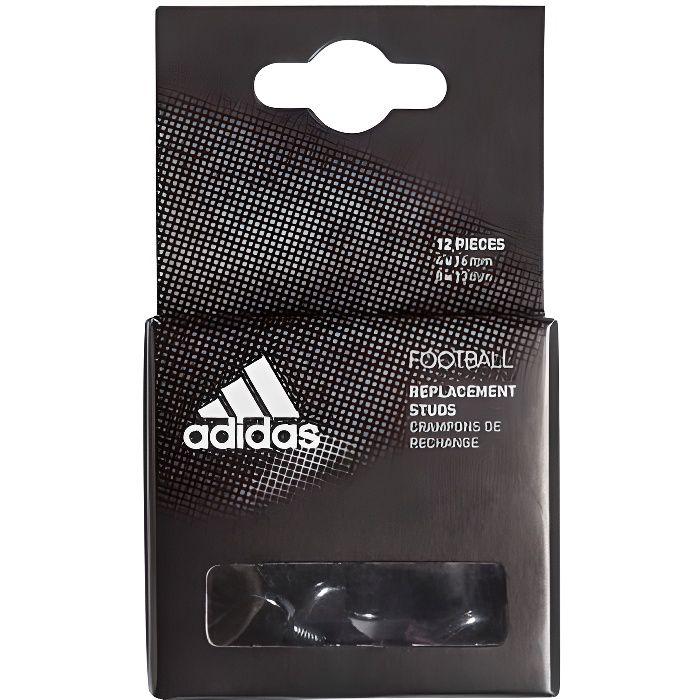 Crampons rugby / football 4x 16mm 8x 13mm alu/plastique - Adidas TU Blanc