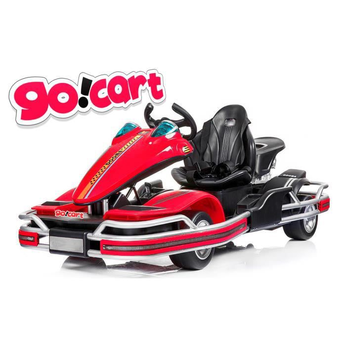 karting electrique rouge pour enfant GO! CART 2018 2x35W 12V 1191219
