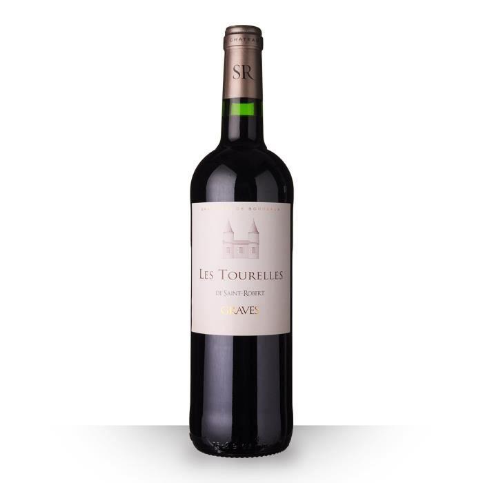 Les Tourelles de Saint-Robert 2016 AOC Graves - 75cl - Vin Rouge