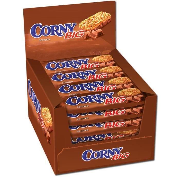 Corny Big barres de chocolat, 24 pièces