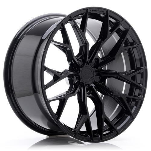 Jante Concaver CVR1 20x9 ET20-51 BLANK Platinum Black