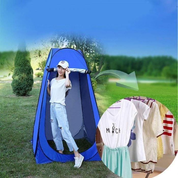 tente de douche pliage pop up cabine de changement toilette vêtement portable tente privée douche camping abri de plein air vestiair