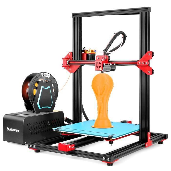 Alfawise U20 Imprimante 3D Diy Grande Echelle 300*300*400mm Ecran Tactile 2,8 pouces Impression de précision