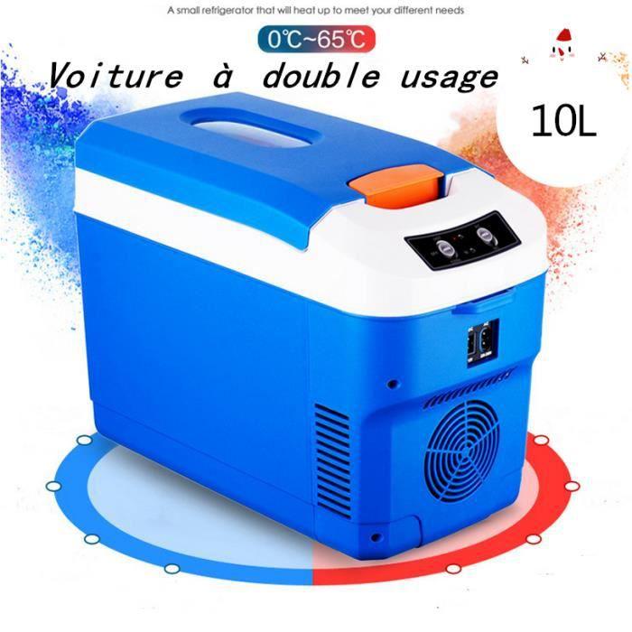 DC 12V24V, AC 240V voiture réfrigérateur congélateur 10L voiture compresseur de réfrigérateur pour voiture maison pique-nique