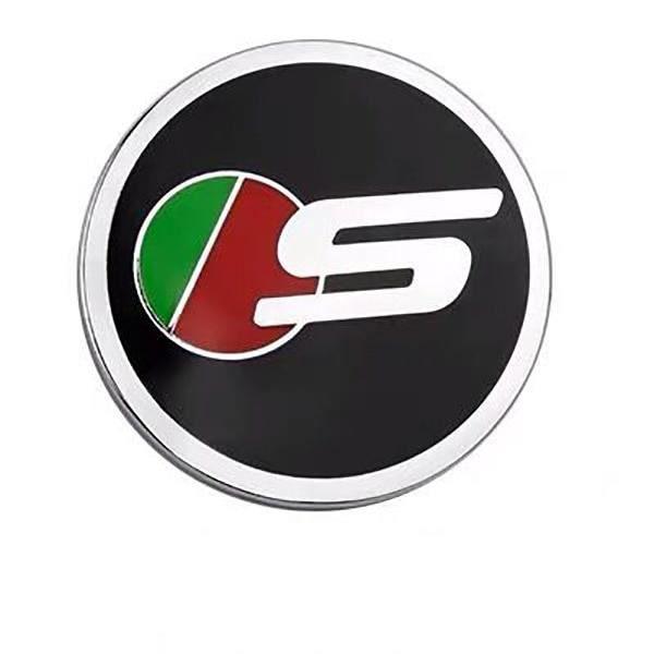 Décoration Véhicule,Bouton de panneau de vitesse de voiture alliage S R Sport autocollant pour Jaguar XFL XEL F PACE XJL - Type S