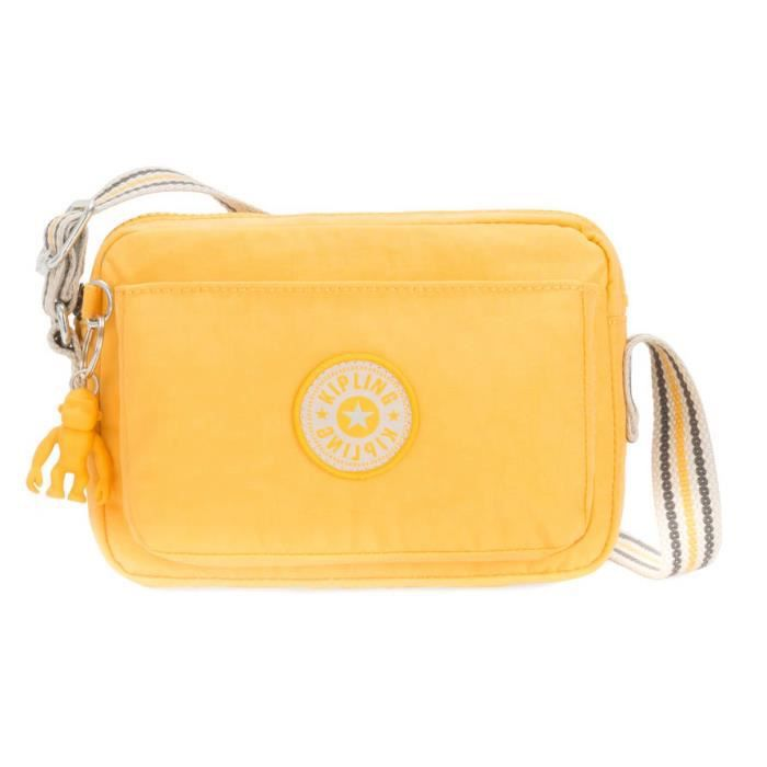 kipling Basic Abanu Crossbody S Vivid Yellow [86430]