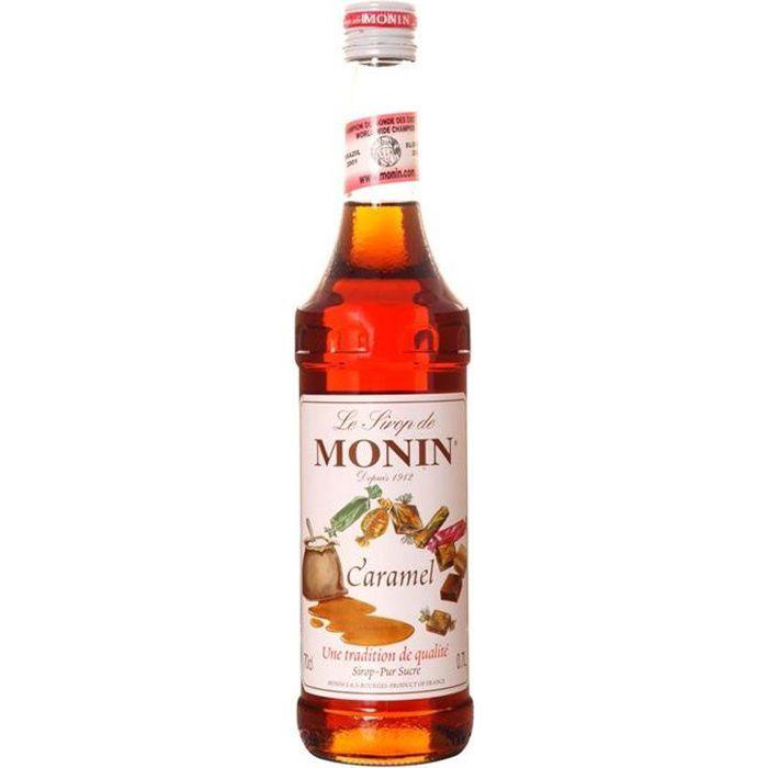 Bouteille de sirop Monin caramel