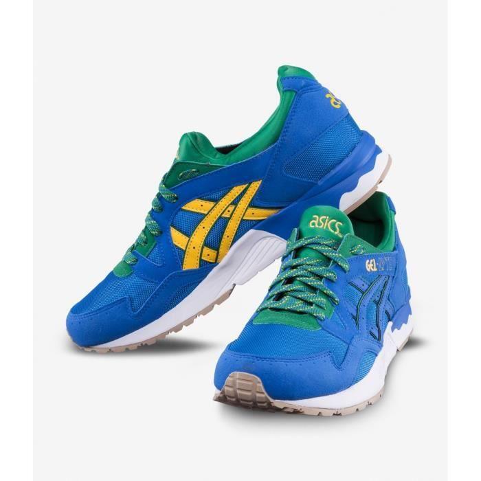 Basket Asics Gel Lyte V Bleu - Édition Brésil - Chaussure Running Homme