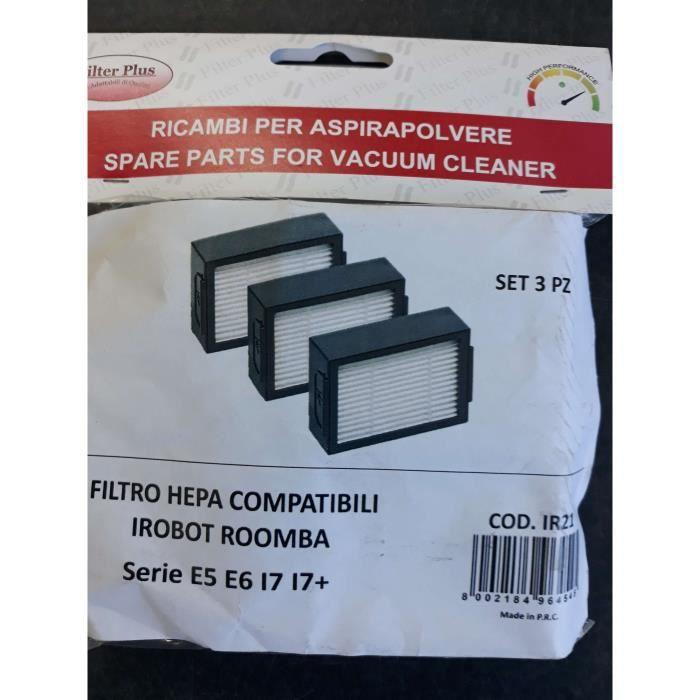 FILTRE HEPA COMPATIBLE IROBOT ROOMBA SERIE E5,E6,I7,I7+,4624876