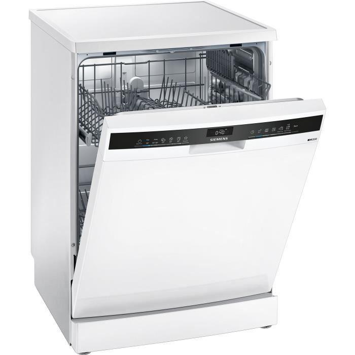 Lave-vaisselle pose libre SIEMENS - SN23IW08TE - 60cm - 12 couverts - 48 dB - Blanc
