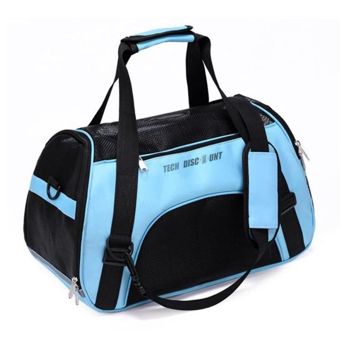 Sac pour animaux de compagnie sac à dos portable pour animaux de compagnie sac de sortie pour chien sac de messager pour animaux