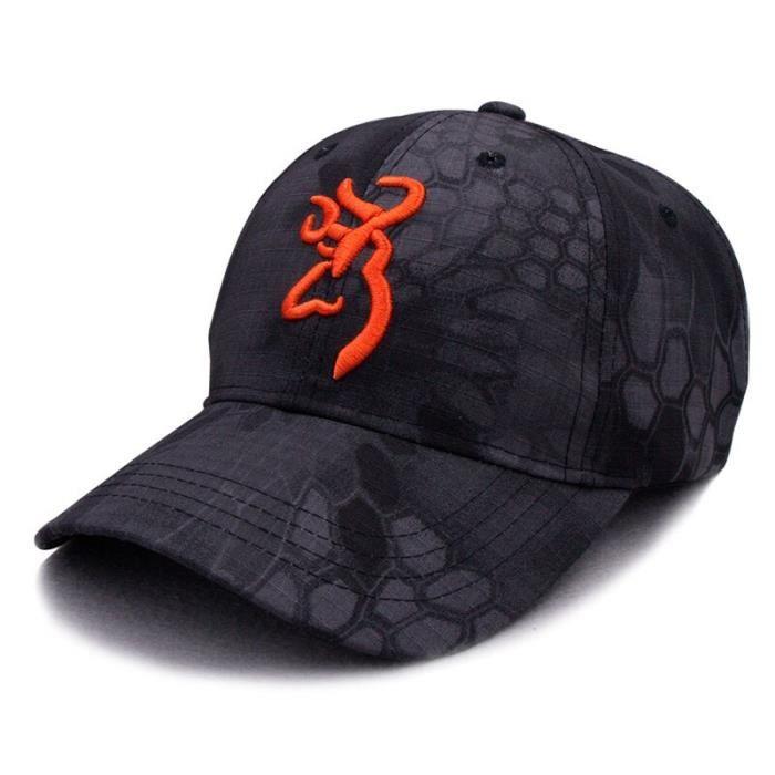 camouflage 1 cap-Adjustable -Casquette de Baseball Browning pour hommes, chapeau Hip Hop de haute qualité avec broderie 3dD, chapeau