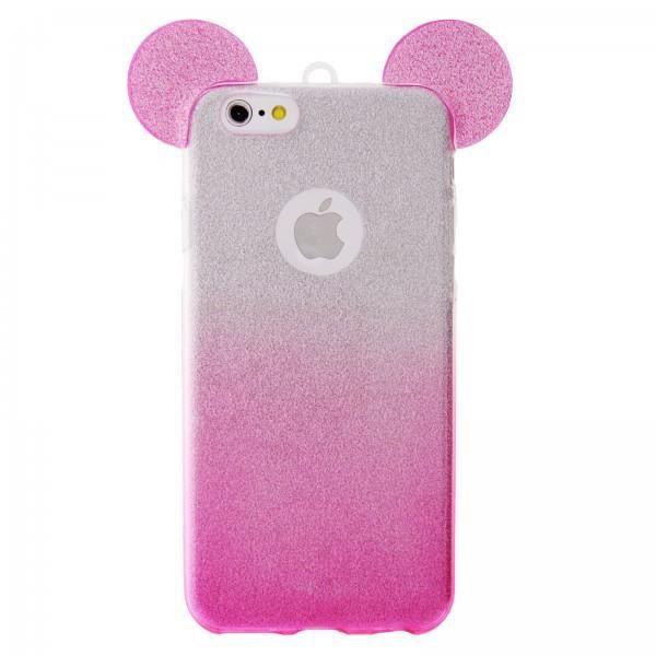 iPhone 6/6S-coque-silicone-transparente-oreille-Gl