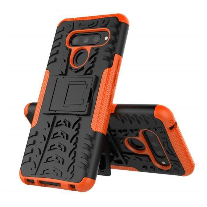COQUE - BUMPER Compatible Pour LG K40 , TPU Double protection Rob