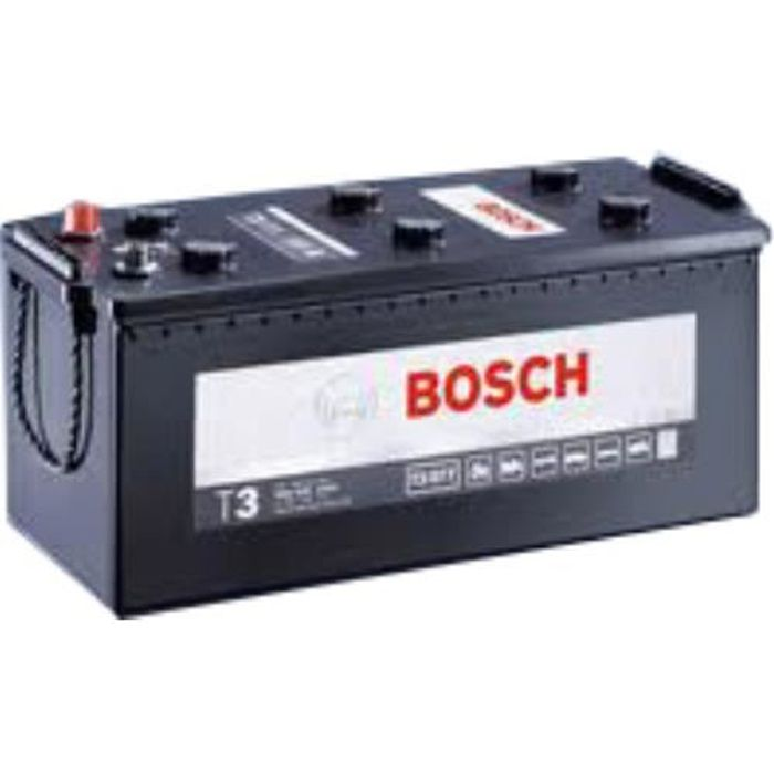 batterie poids lourd bosch 12v 135 ah 1000 a r f. Black Bedroom Furniture Sets. Home Design Ideas